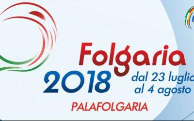 FOLGARIA 2018 – CAMPIONATO ITALIANO CADETTI JEUNESSE JUNIOR E SENIOR
