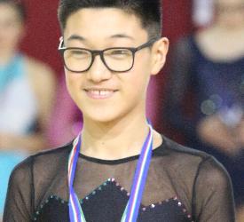 MIRKO YAN prima esperienza in gare internazionali