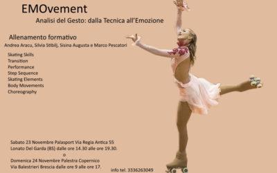 ALLENAMENTO FORMATIVO  EMOvement – Analisi del Gesto: dalla Tecnica all'Emozione